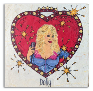 Dolly Single Coaster