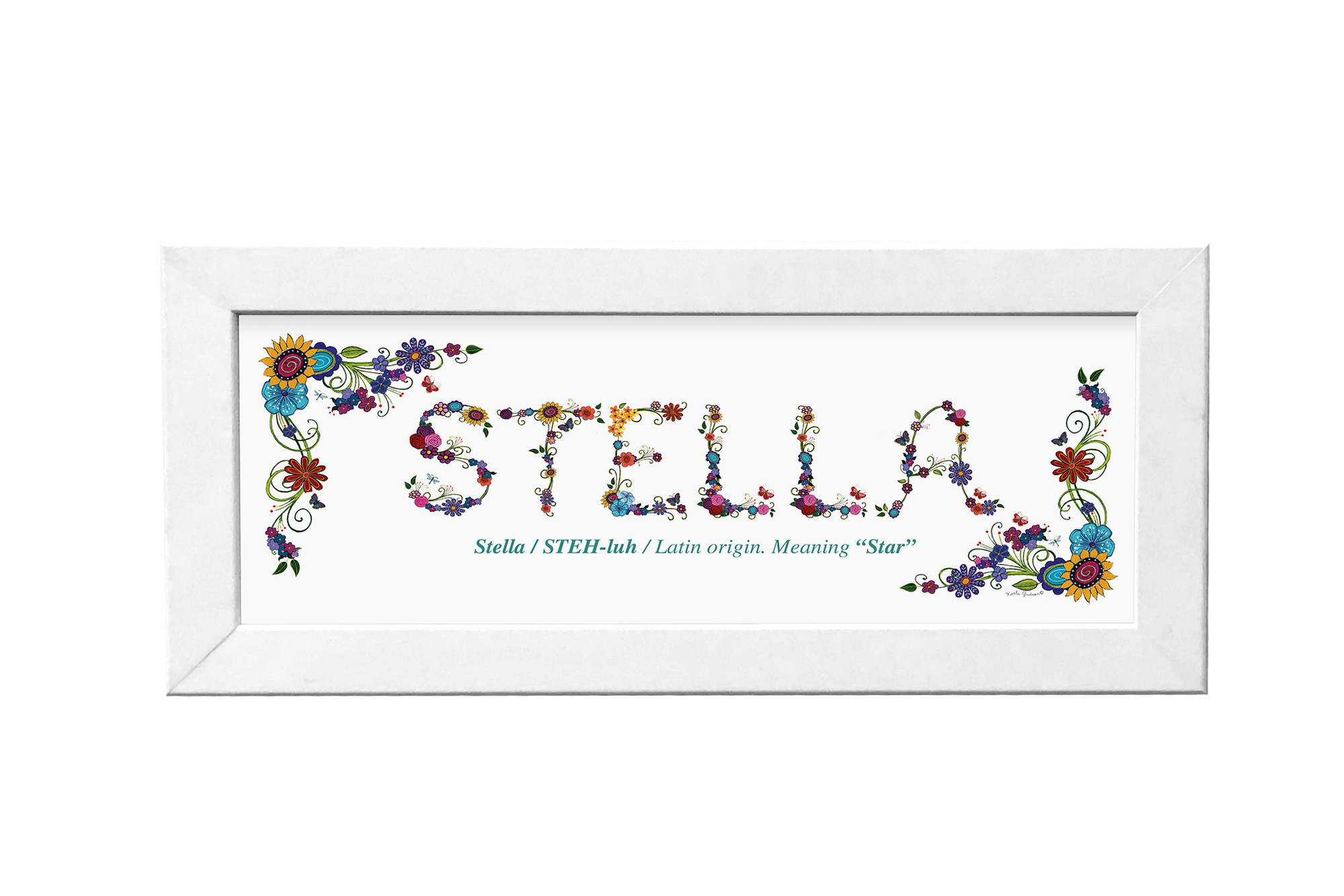Personalized Name (Floral)