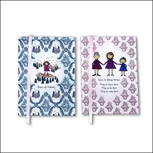 Strong Women Notebook Set