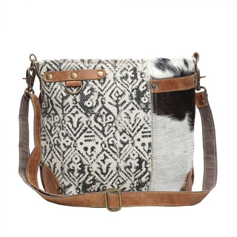Myra Bag Hairon and Cotton Rug Shoulder Bag!!!