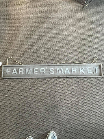 Farmers Market Sign - STORE PICKUP ONLY