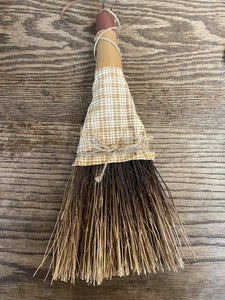 Fireplace hand broom