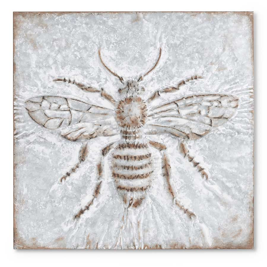 Bee Tin Wall Art