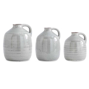 Grey Jug with handle - Medium