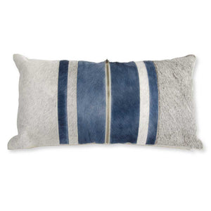 Pillow with Zipper and Linen Back