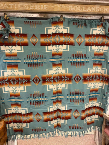 Pendleton Chief Joseph Shawl Fringe Blanket