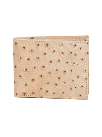 Scully Ostrich Leather Slim Billfold