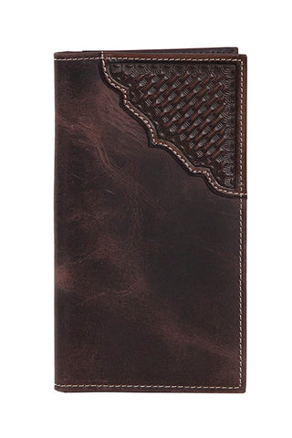 Scully Leather Secretary Wallet