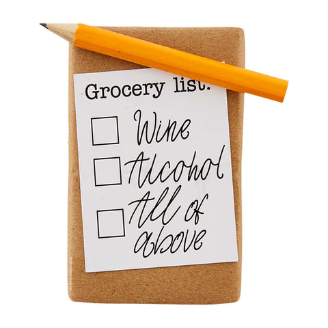 Mud Pie Grocery List Hand Soap