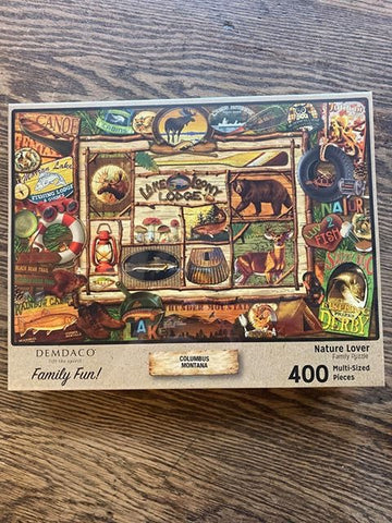 "Columbus, Montana: ""Nature Lover"" Puzzle"