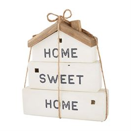 Mud Pie Home Sweet Home Stacking Blocks