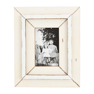 Mud Pie Small Weathered Picture Frame
