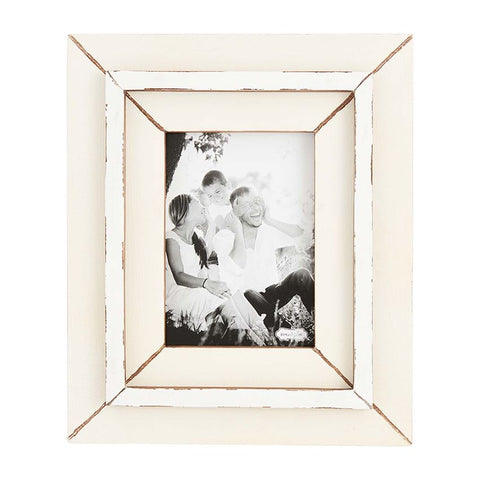 Mud Pie Medium Weathered Picture Frame