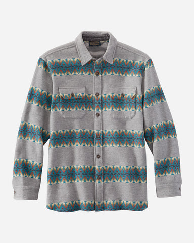 Pendleton Men's Doublesoft Flannel Driftwood Shirt! TWO Color Options!