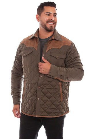 Scully Men's Quilted Jacket