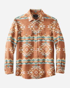 Pendleton Men's Beach Shack Jacquard Cotton Shirt! TWO Color Options!