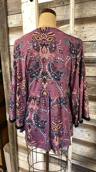 Ivy Jane/ Uncle Frank Dolman Top with Ruffle Flounce!!! NWT!!!