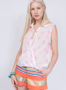 Ivy Jane Neon Flower Top!!!