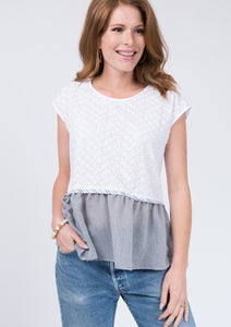 Ivy Jane Fishy Eyelet Top!!!