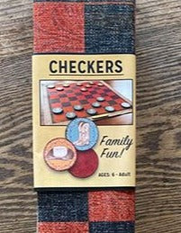 "Columbus, Montana: ""Western Hat & Boots"" Checkers Game"
