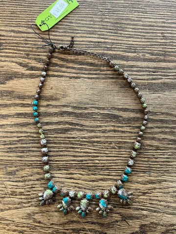 Gypsy Soule Brown, Green, and Blue Necklace