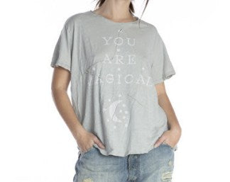 Magnolia Pearl Cotton Jersey You are Magic T