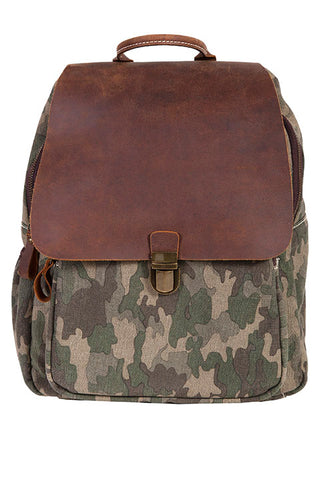 Scully Camo Backpack