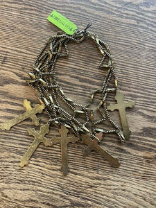 Gypsy Soule Cross Necklace!!! Gold or Silver!!!