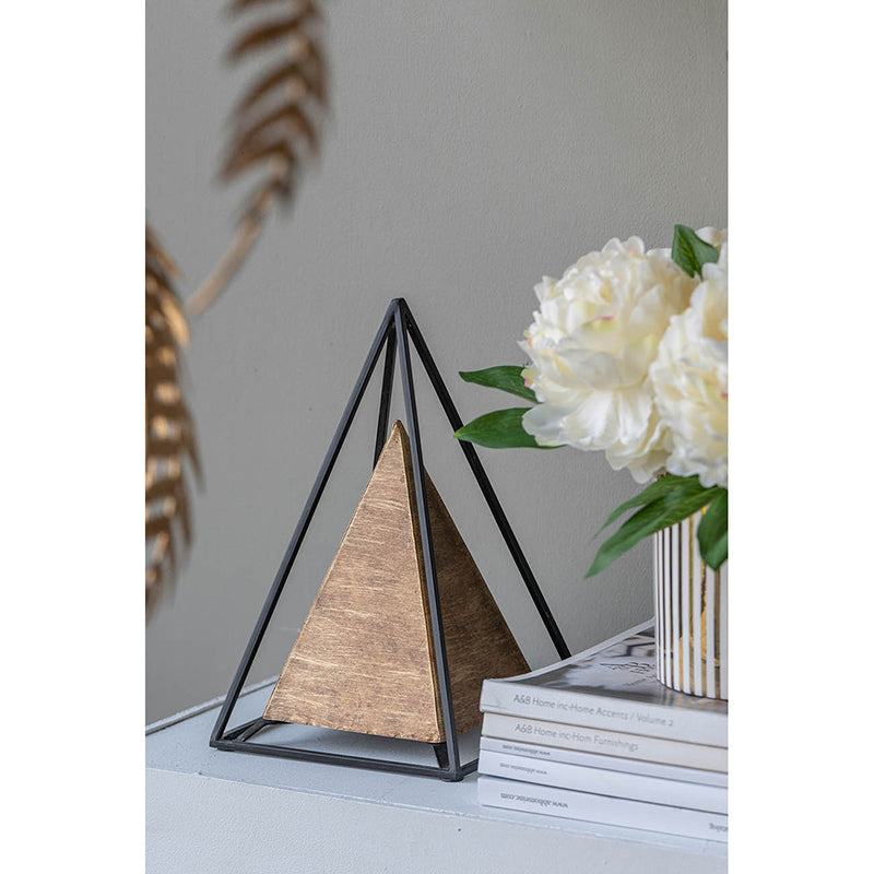Pyramid Table Decor