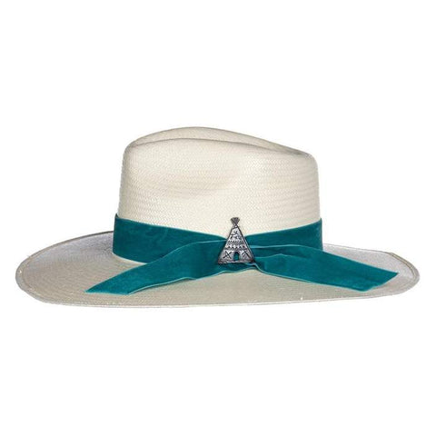 Charlie 1 Horse Old Apache Straw Hat