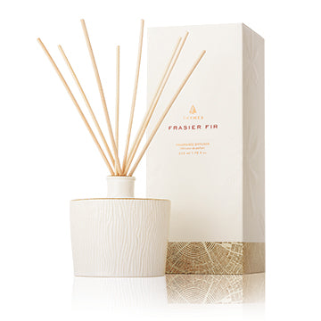 Thymes Full Size Frasier Fir Pine Needle Reed Diffuser! Two Options!