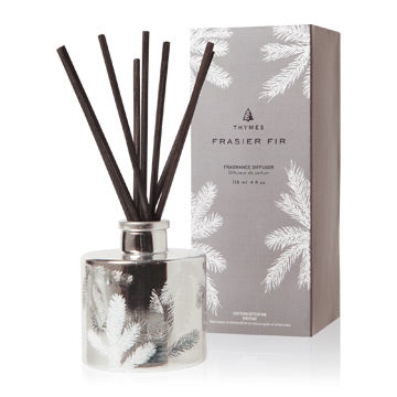 Thymes Fraiser Fir Petite Reed Diffuser! Three Options!