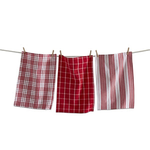 Merry Plaid Dishtowel Set