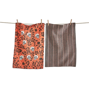 Til Death Skull Dishtowel Set