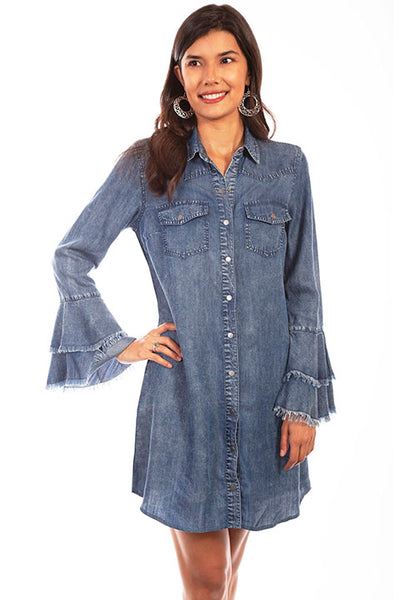 Scully Western Yoke Shirt Dress!!!