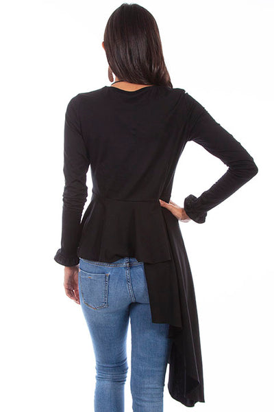 Scully Tunic with Asymetric Peplum!!!