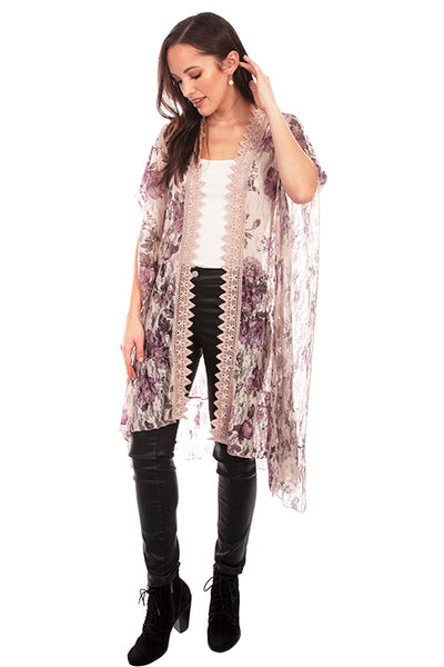 Scully Lace Crochet Trim Duster!!!