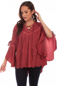 Scully Tunic with Lace-Up Sleeves!!!