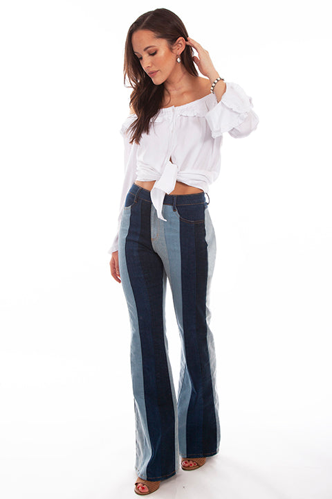 Scully Multi Colored Panel Jeans!!!