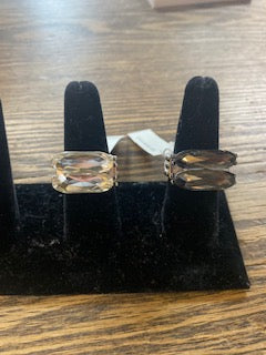 Faux Quartz Stretch Rings
