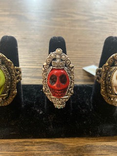 Ollipop Skull Rings! THREE COLOR OPTIONS!