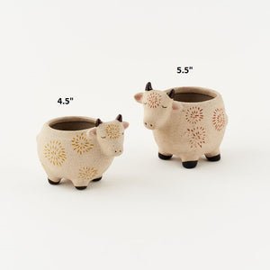 Cow Pots! Two Size Options!