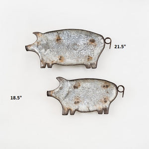 Pig Trays! Two Size Options!