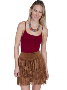 Scully Suede Fringe Skirt!!!