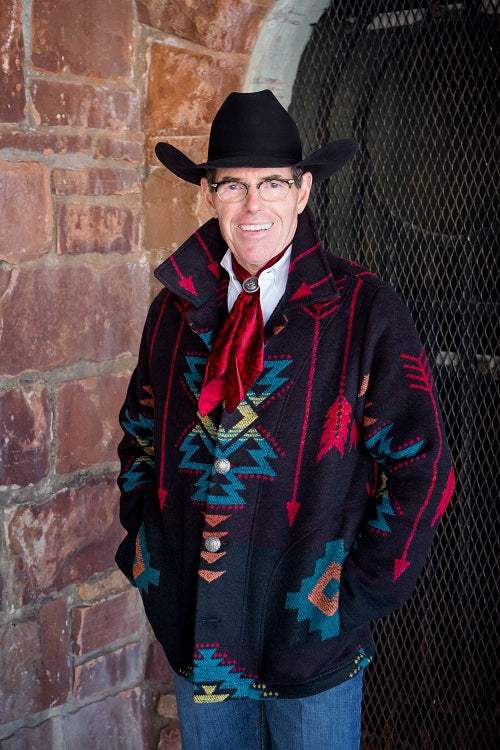 Rhonda Stark Designs Men's Blackfoot Trail Coat!!!