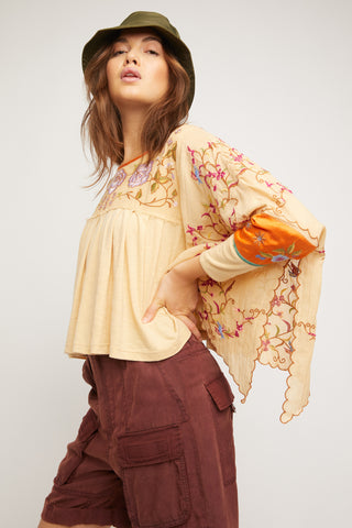 Free People Waiting On A Sunny Day Top