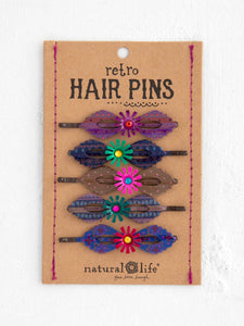 Natural Life Set of Retro Hair Pins