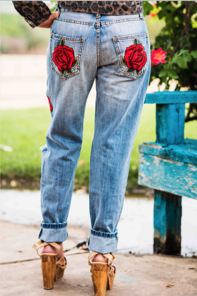 Rodeo Quincy Ella-Rose Denim Pant
