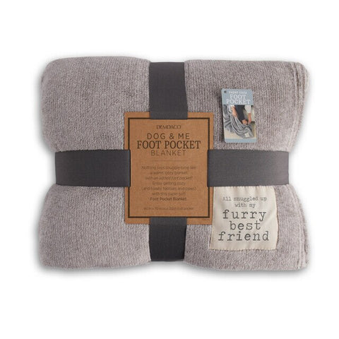 Dog & Me Foot Pocket Blanket