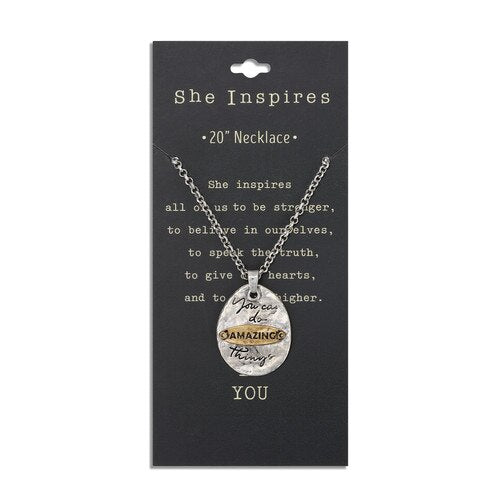 Amazing Things Pendant Necklace!!!